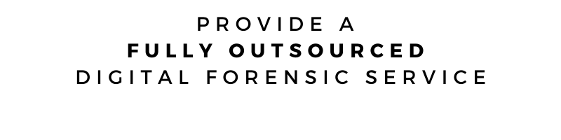 CITS - Provide Fully Outsourced Digital Forensic Services
