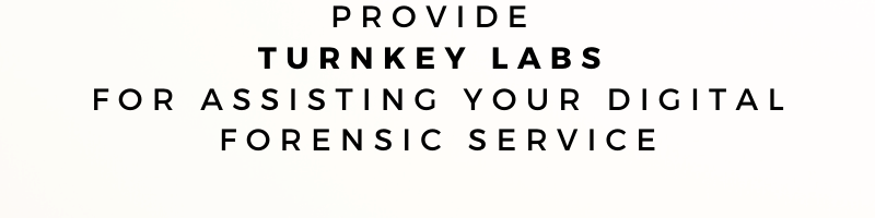 CITS - Provide Turnkey Labs for assiting in your Digital Forensic Services